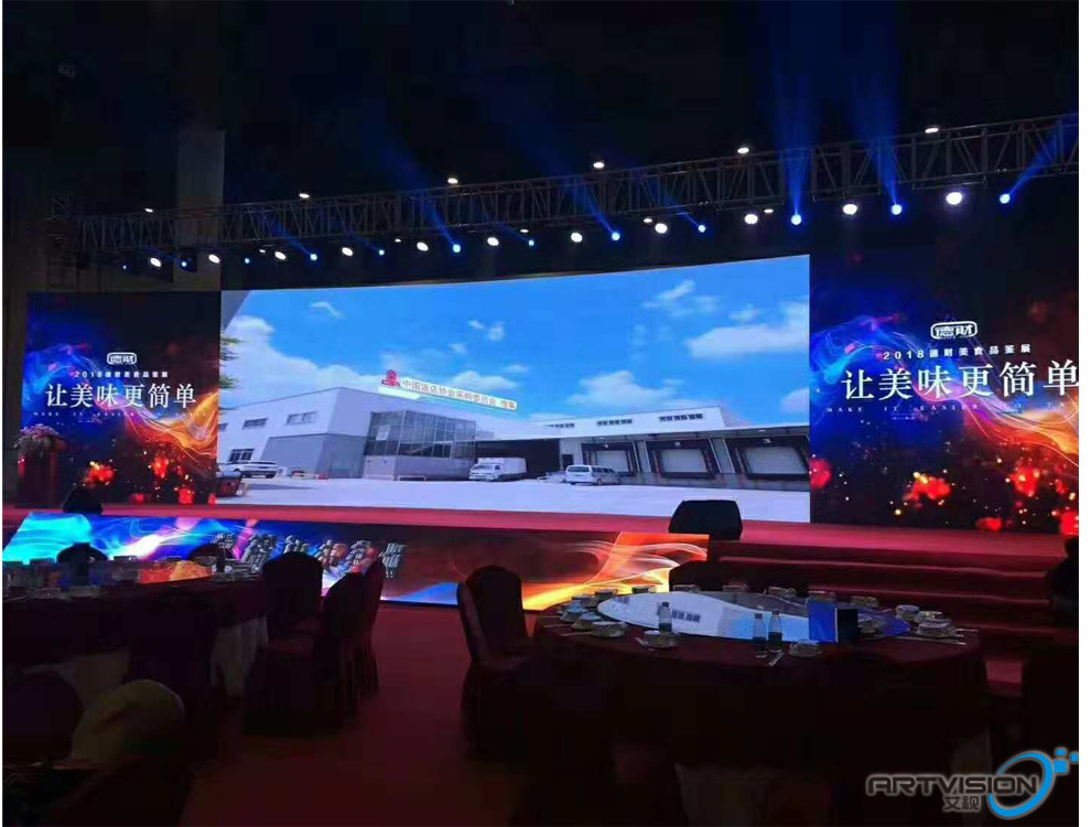 P3.91 indoor rental led panel 28sqm